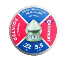 Crosman .22 Pointed pellets Tin of 500